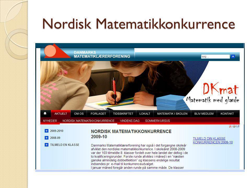 Nordisk Matematikkonkurrence