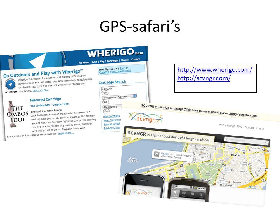 GPS-safari's http://www.wherigo.com/ http://scvngr.com/