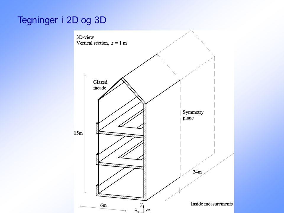 Tegninger i 2D og 3D