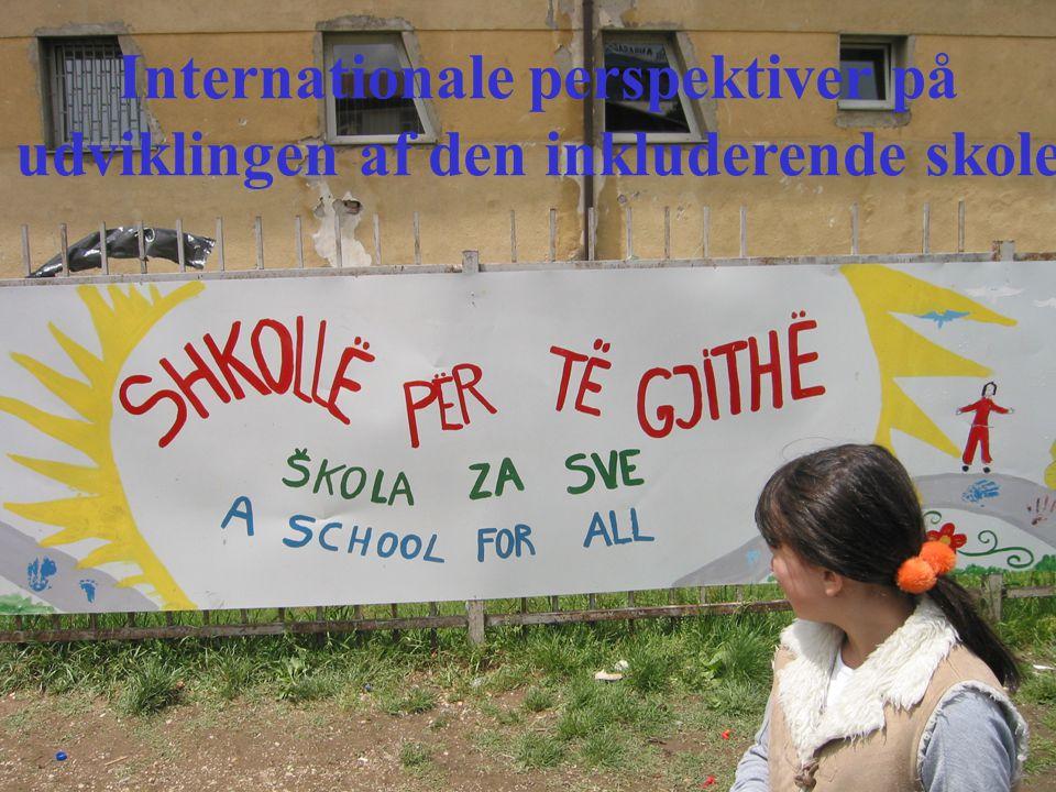 Internationale perspektiver på udviklingen af den inkluderende skole