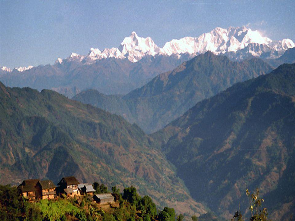 Landsby i Nepal
