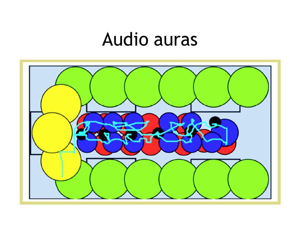 Audio auras