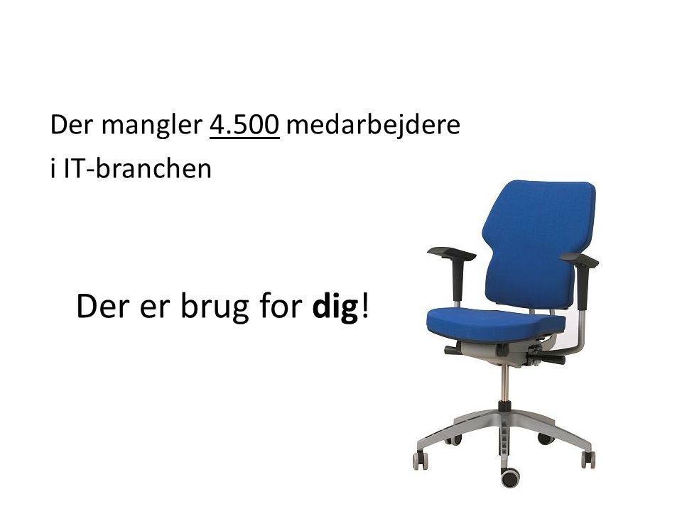 Der mangler 4.500 medarbejdere i IT-branchen Der er brug for dig!