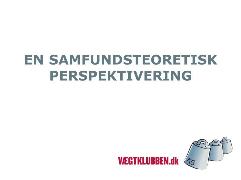 EN SAMFUNDSTEORETISK PERSPEKTIVERING
