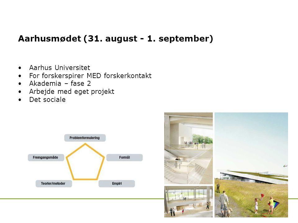 Aarhusmødet (31. august - 1.
