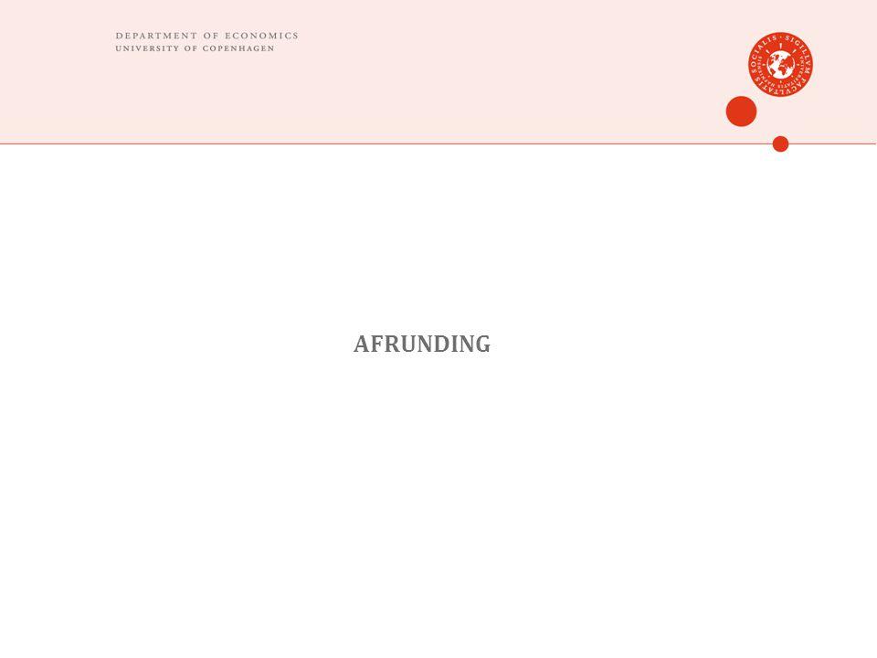 AFRUNDING