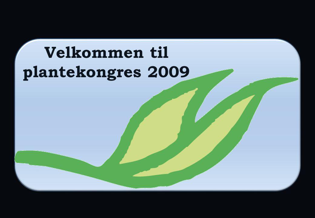 Velkommen til plantekongres 2009