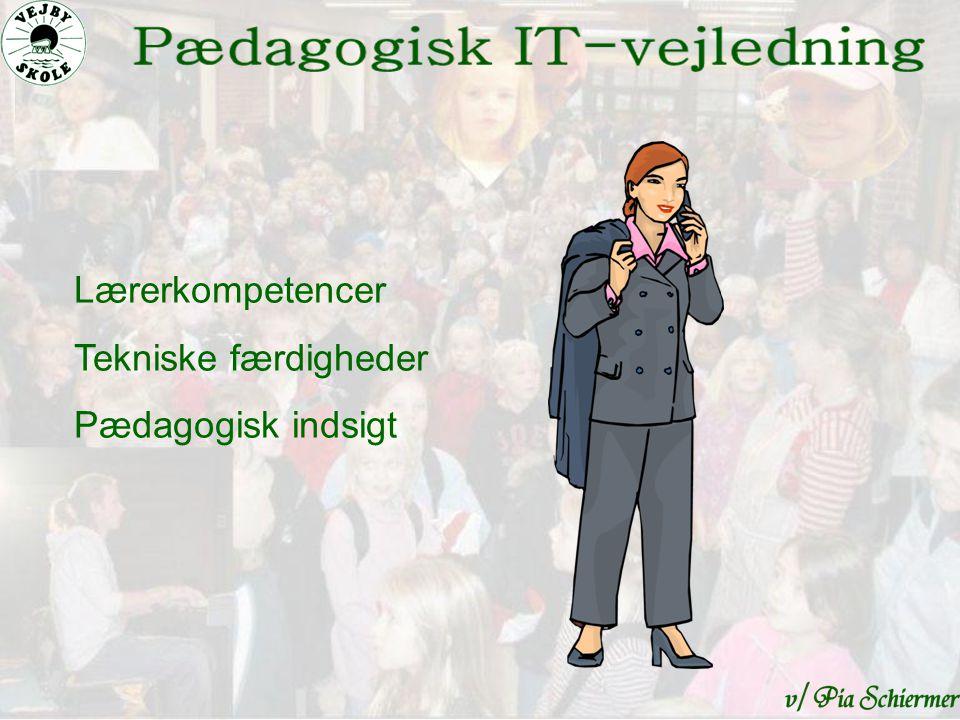 Lærerkompetencer Tekniske færdigheder Pædagogisk indsigt