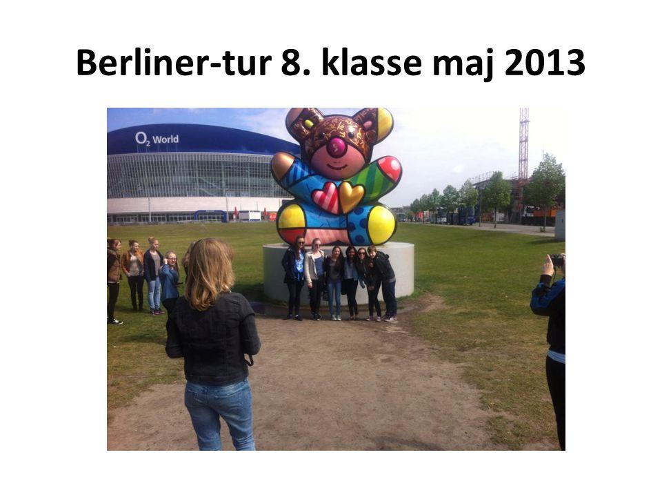 Berliner-tur 8. klasse maj 2013