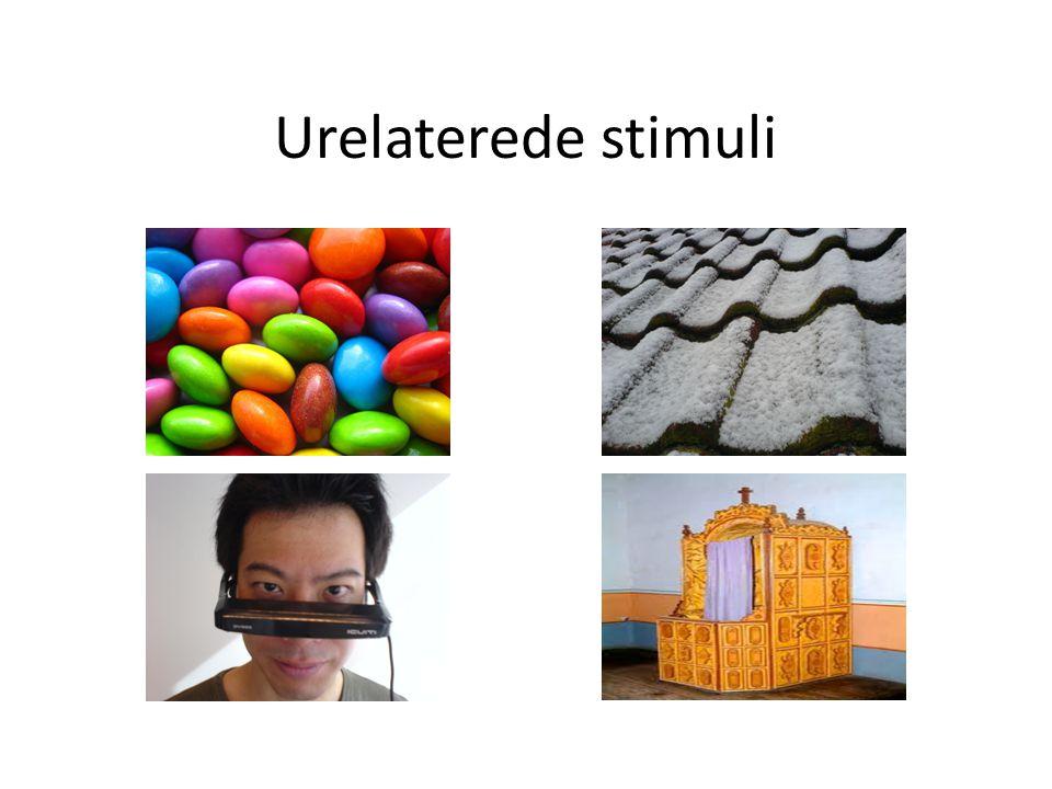 Urelaterede stimuli