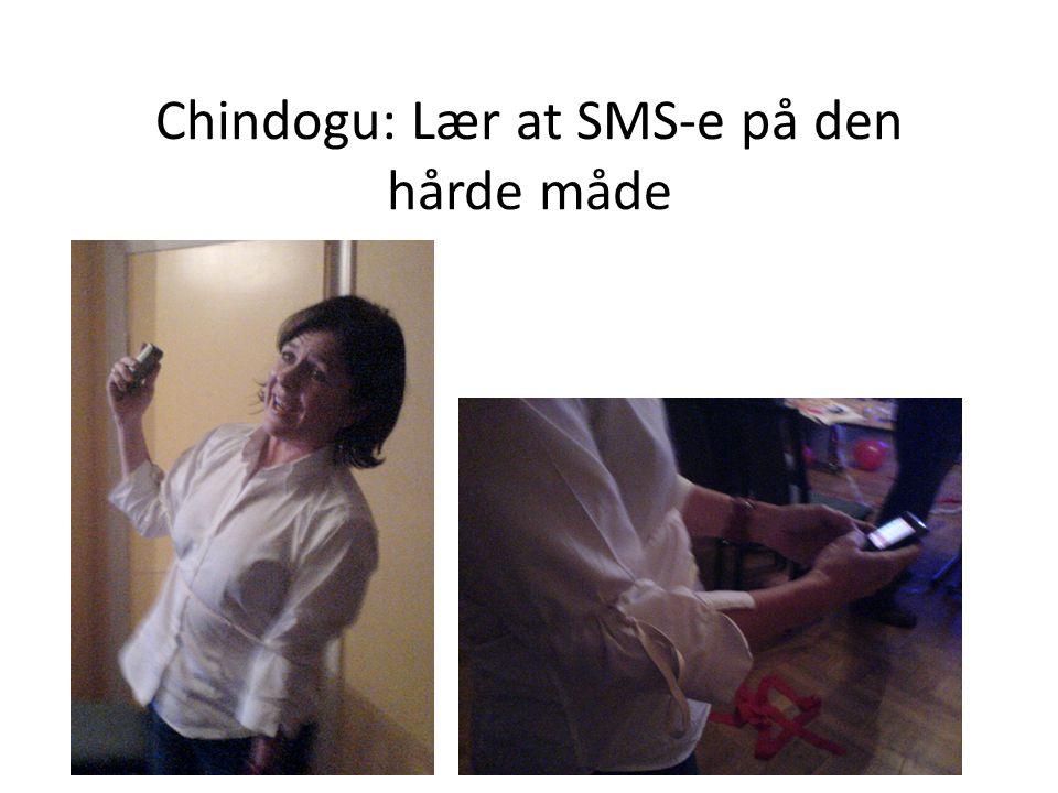 Chindogu: Lær at SMS-e på den hårde måde