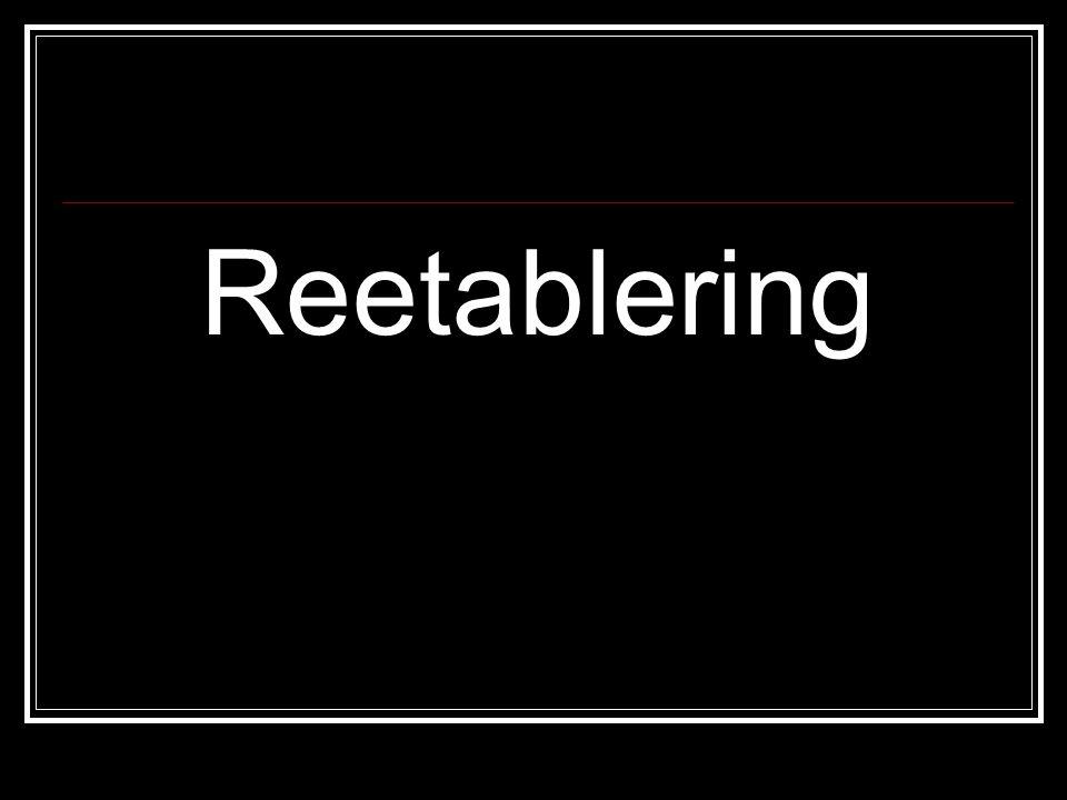 Reetablering