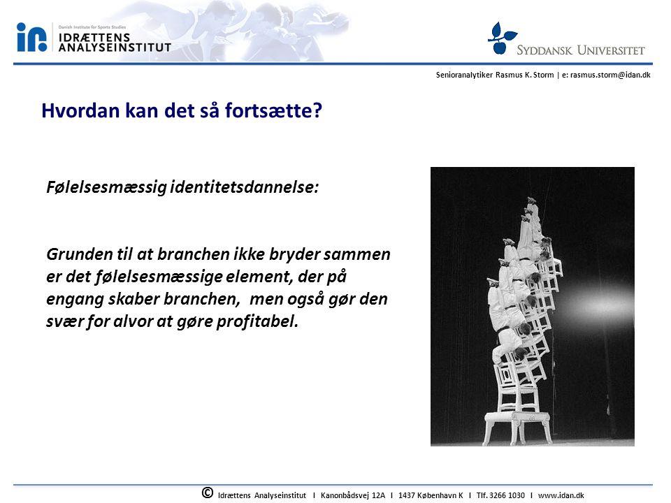© Idrættens Analyseinstitut l Kanonbådsvej 12A l 1437 København K l Tlf.