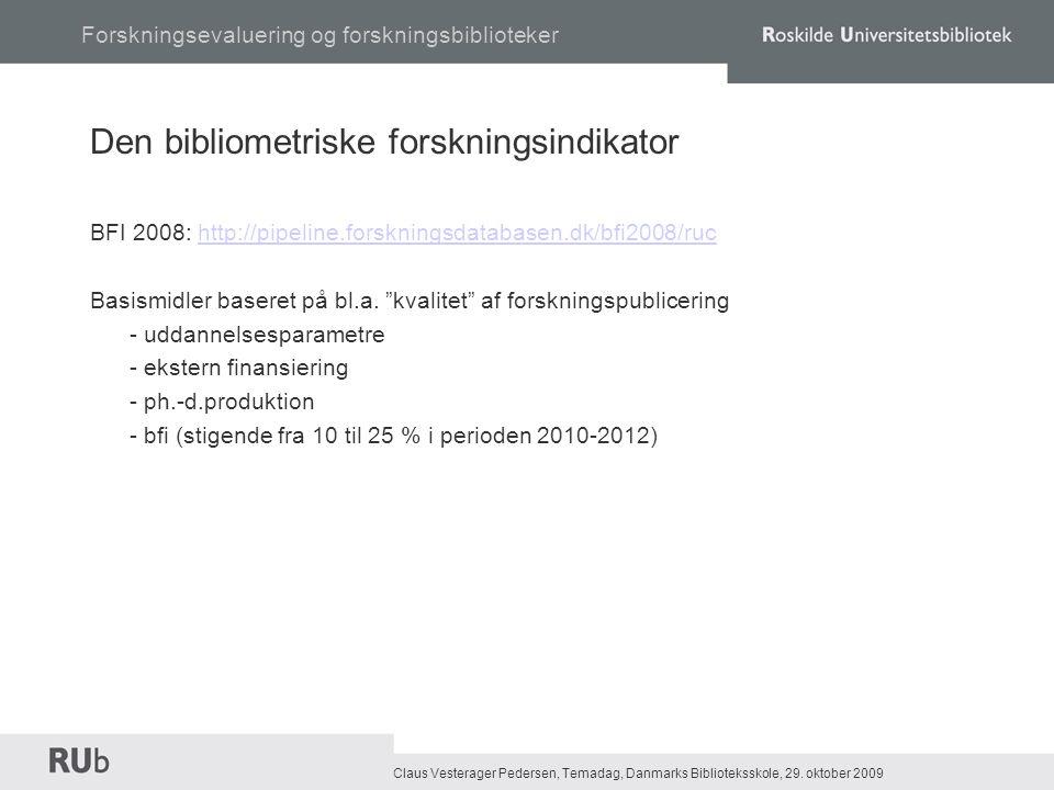 Claus Vesterager Pedersen, Temadag, Danmarks Biblioteksskole, 29.