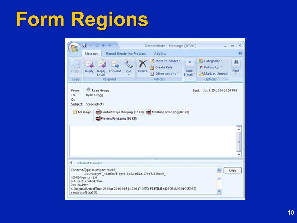 Form Regions 10