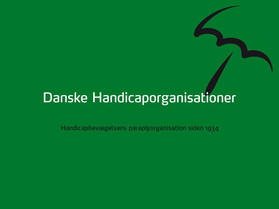 Danske Handicaporganisationer Handicapbevægelsens paraplyorganisation siden 1934