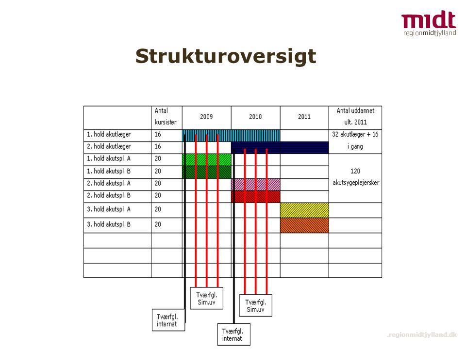 10 ▪ www.regionmidtjylland.dk Strukturoversigt