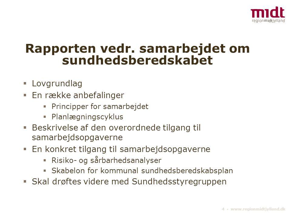 4 ▪ www.regionmidtjylland.dk Rapporten vedr.