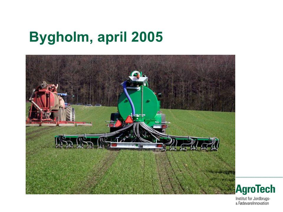 Bygholm, april 2005