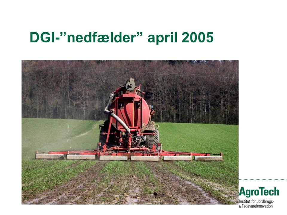 DGI- nedfælder april 2005