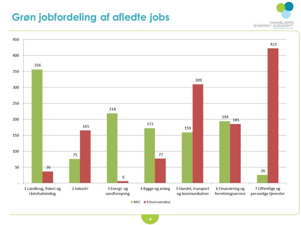 4 Grøn jobfordeling af afledte jobs