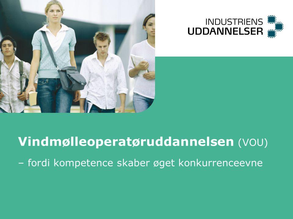 Vindmølleoperatøruddannelsen (VOU) – fordi kompetence skaber øget konkurrenceevne