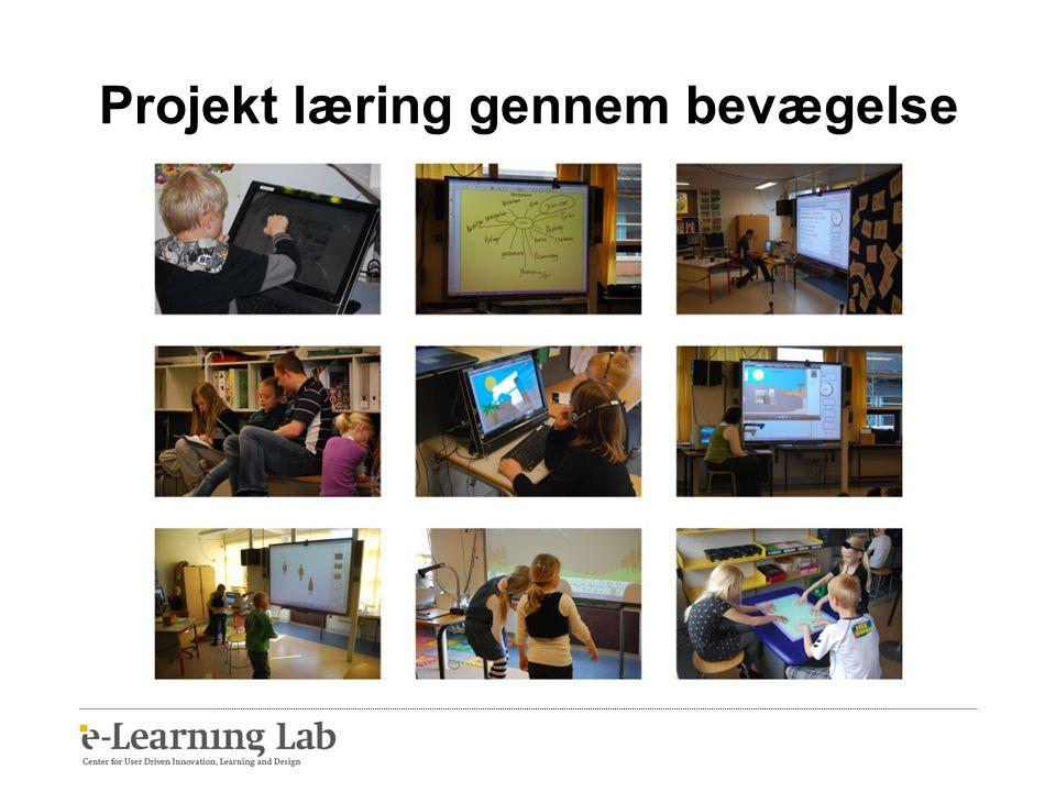 Projekt læring gennem bevægelse