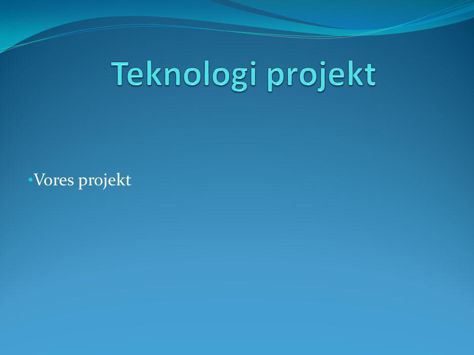 Vores projekt