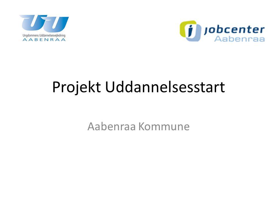 Projekt Uddannelsesstart Aabenraa Kommune