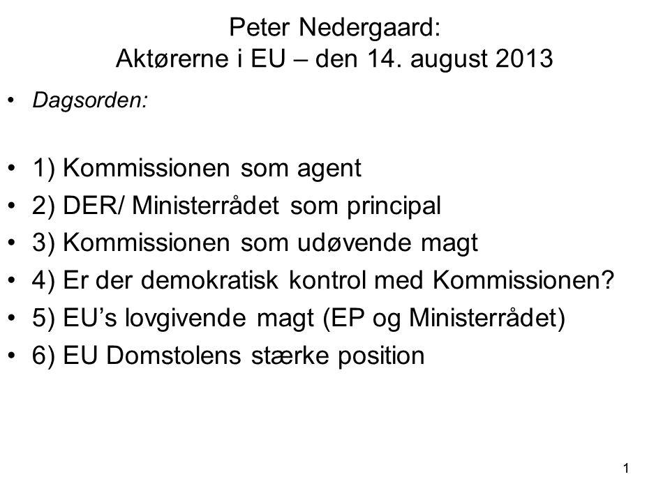 11 Peter Nedergaard: Aktørerne i EU – den 14.