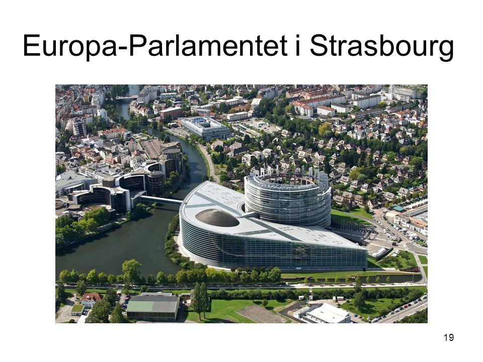 Europa-Parlamentet i Strasbourg 19