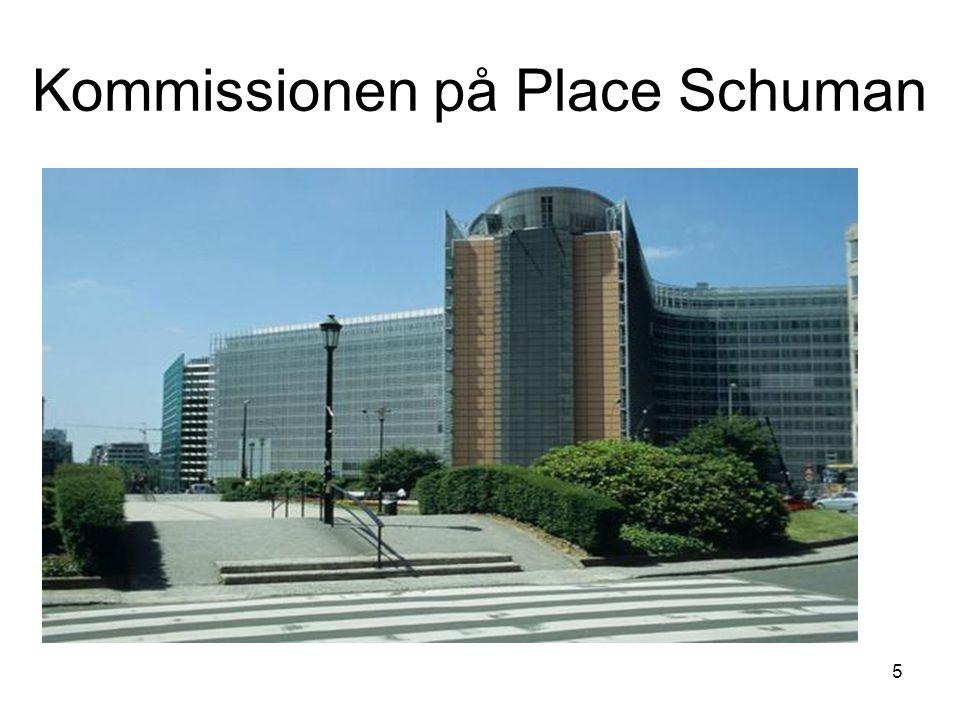 Kommissionen på Place Schuman 5