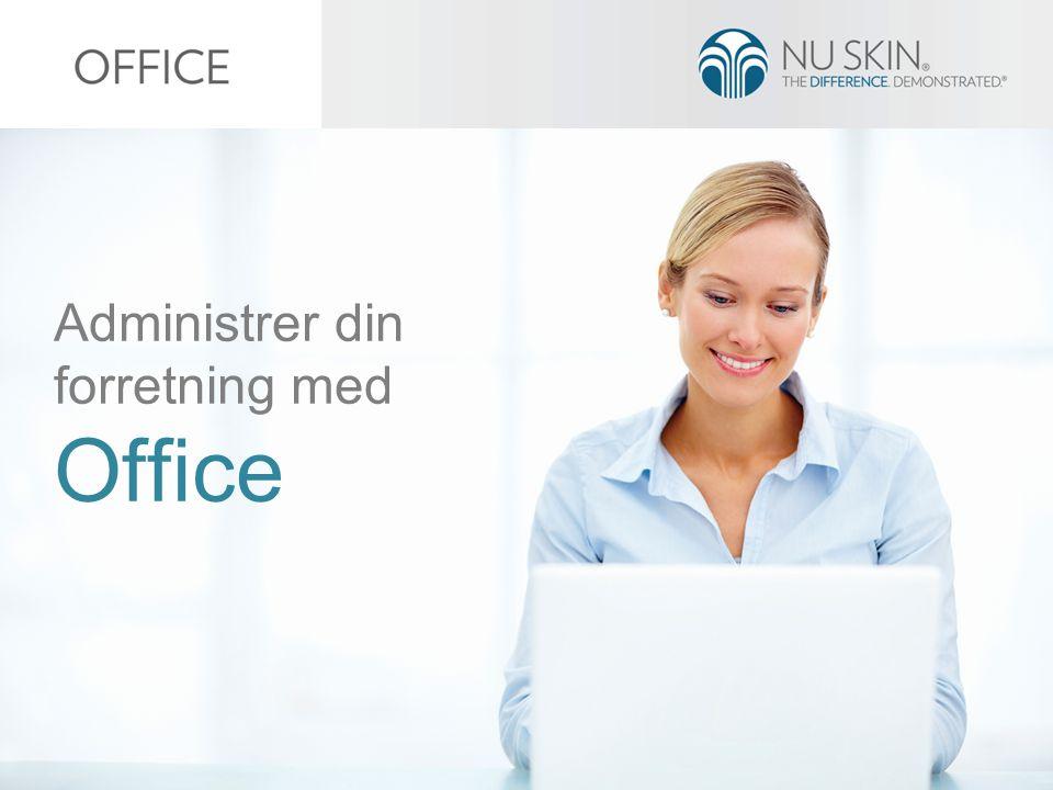 Administrer din forretning med Office