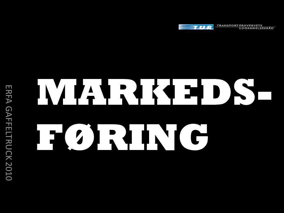 MARKEDS- FØRING ERFA GAFFELTRUCK 2010