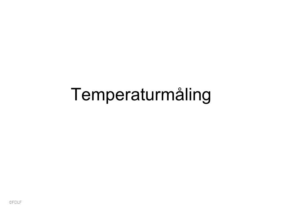 Temperaturmåling ©FDLF