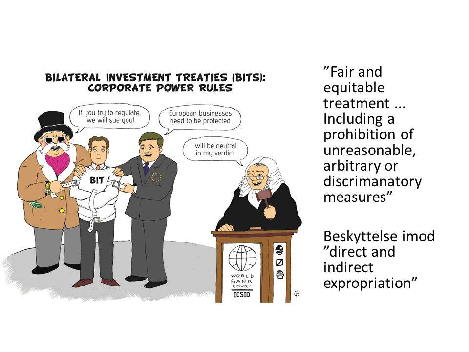 Fair and equitable treatment...