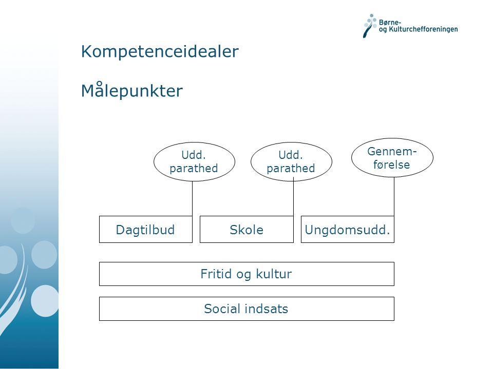 Kompetenceidealer Målepunkter DagtilbudSkoleUngdomsudd.