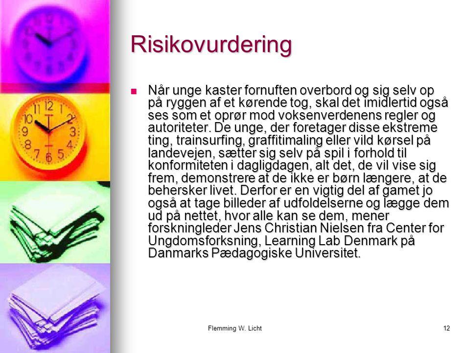 Flemming W. Licht11 Det betaler sig…..