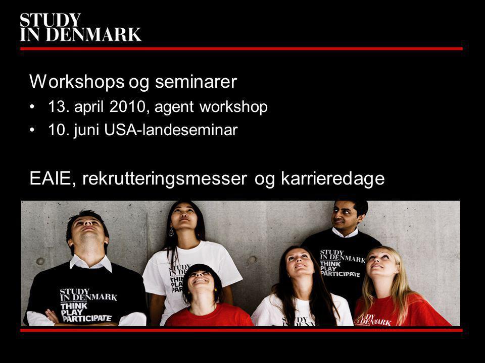Workshops og seminarer 13. april 2010, agent workshop 10.