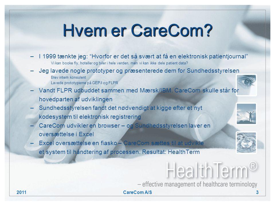 Hvem er CareCom.