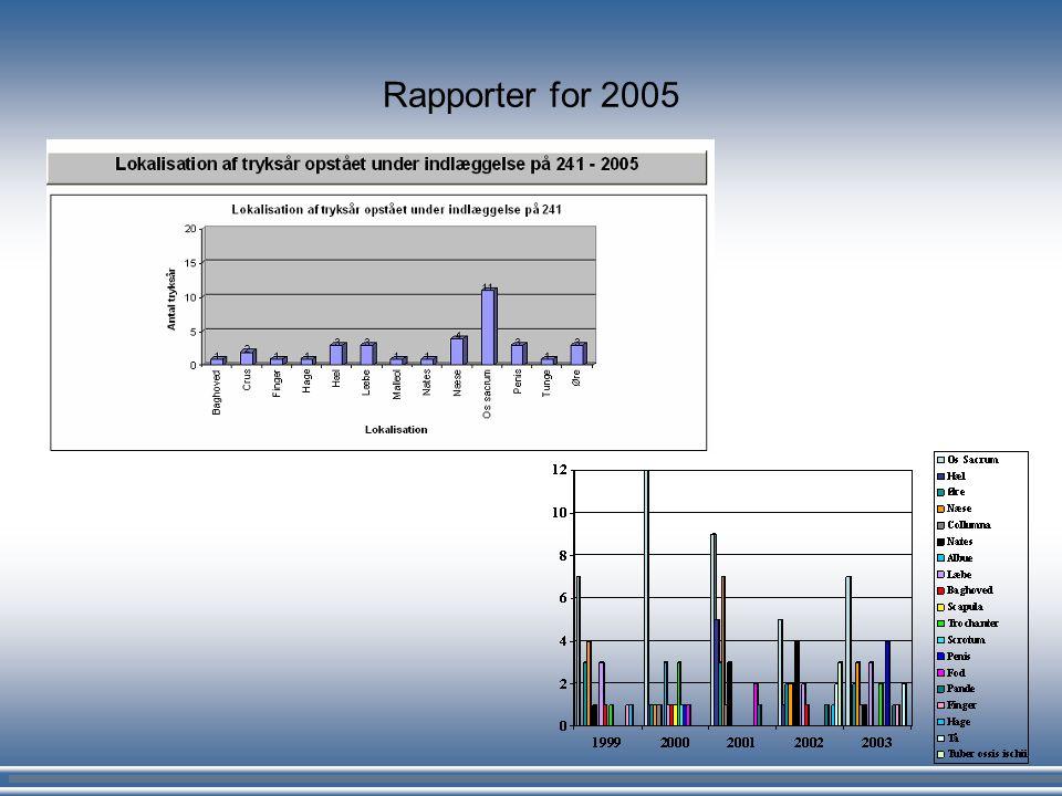 Rapporter for 2005