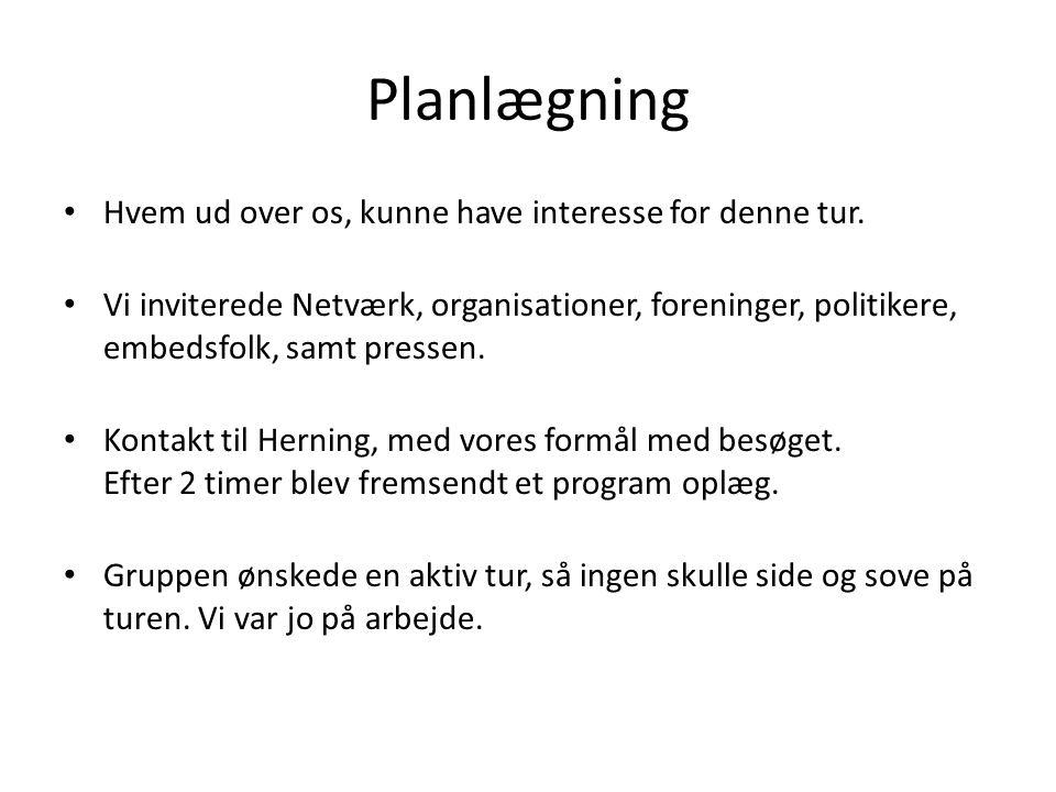 Turen til Herning Netværks styret debat.Positiv stemning og engagement.
