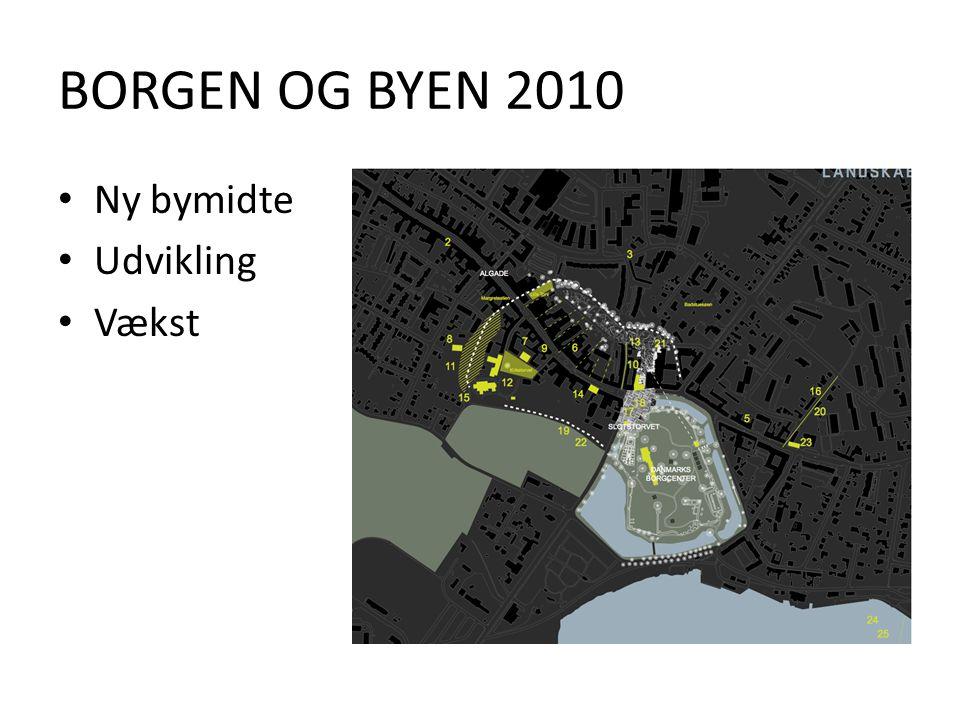 BORGEN OG BYEN 2010 Ny bymidte Udvikling Vækst