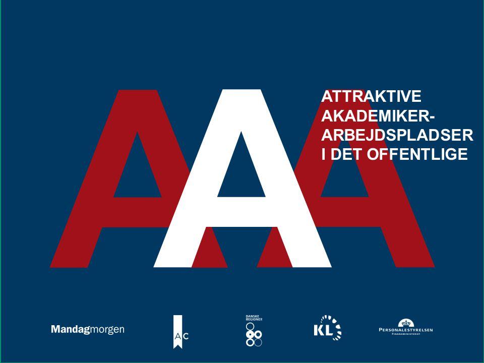 www.mm.dk A AA ATTRAKTIVE AKADEMIKER- ARBEJDSPLADSER I DET OFFENTLIGE