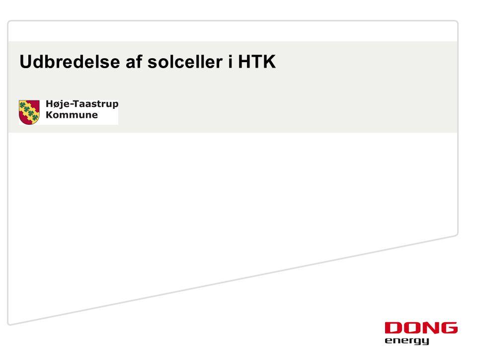 Udbredelse af solceller i HTK