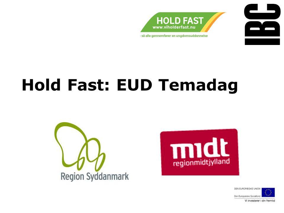 Tekstslide med bullets Brug 'Forøge / Formindske indryk' for at skifte mellem de forskellige niveauer Hold Fast: EUD Temadag www.ibc.dk