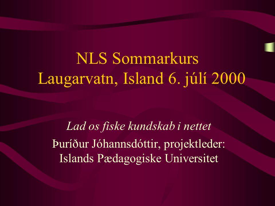 NLS Sommarkurs Laugarvatn, Island 6.