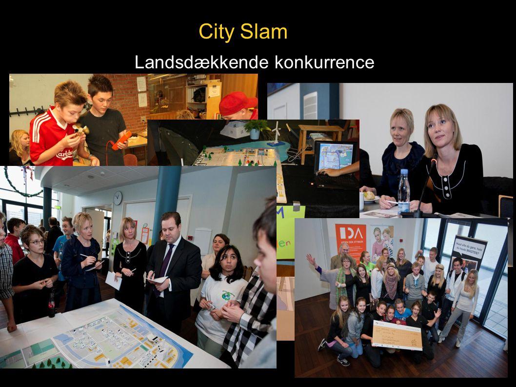 City Slam Landsdækkende konkurrence