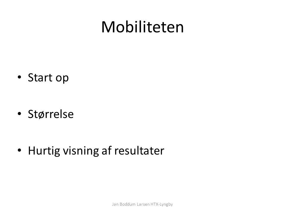 Mobiliteten Start op Størrelse Hurtig visning af resultater Jan Boddum Larsen HTX-Lyngby