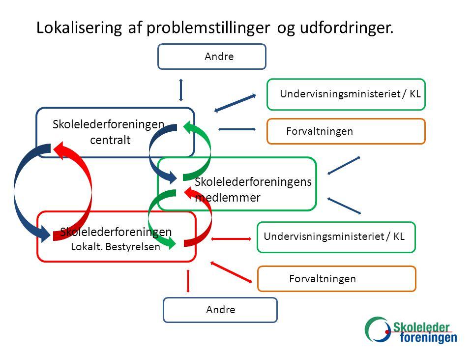 Lokalisering af problemstillinger og udfordringer.